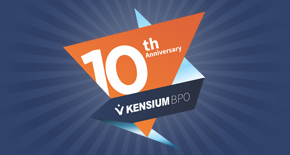 Kensium BPO celebrates 10 years
